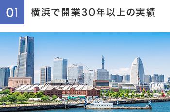 横浜で開業30年以上の実績